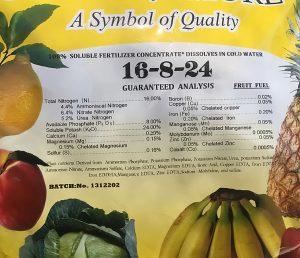 Fruit Fuel Fertilizer